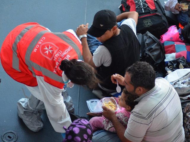 Soccorso sanitario ai migranti